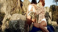 Beautiful Lesbian Lust On Display