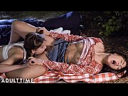 ADULT TIME Teenage Lesbian: Kendra & Kristen- Pussy Eating Picnic