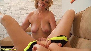 extreme rough lesbian granny yoga
