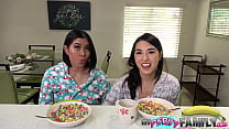 Mischievous Asian Teen Stepdaughters - Mina Moon - Emerald -