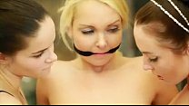 Teen lesbian threesome   Watch more videos - likefucker.com