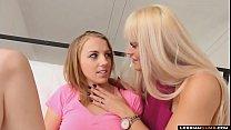 LesbianCums.com: Cheating Step Mom Seduces Step Daughter