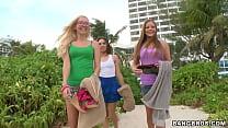BANGBROS - Lesbian Threesome With Mercedes Lynn, Sara Luvv & Aaliyah Love