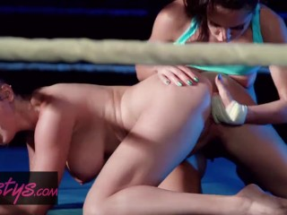 Twistys - MMA parody - Let's Get Ready to Squirrrrrt