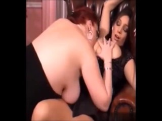 Girls On Girls Big Natural Breast Sucking Part.4