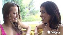 Dani Daniels Makes Sweet Lesbian Love To Vanessa Veracruz