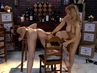 Danni Ashe and Aria Giovanni Lesbian Fuck