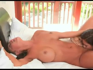 Ava Addams Step-Daughter won't take a No